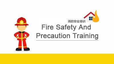 Prevent the fire from now on - fire training